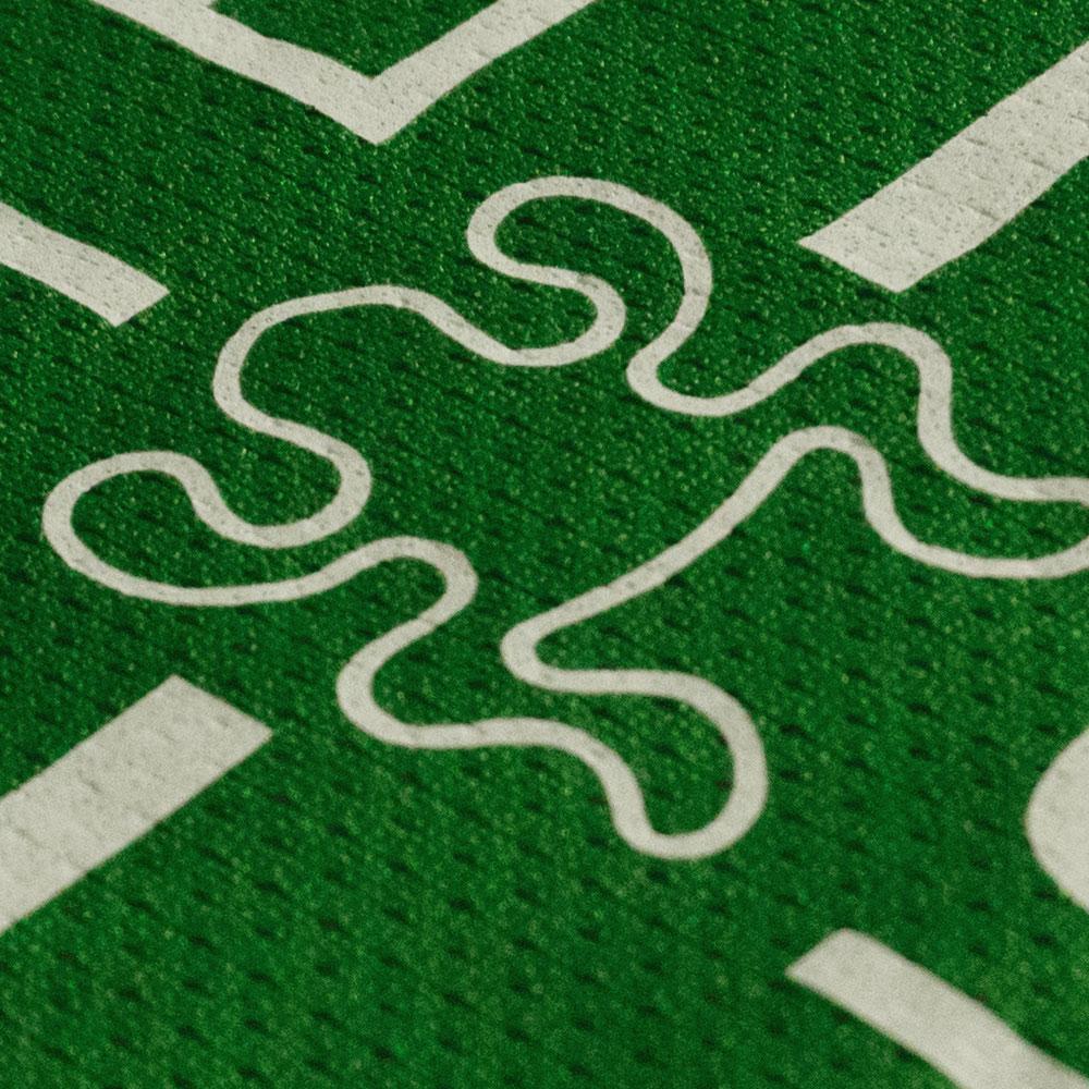 Logo auf dem Trikot des DJK Sportbund München