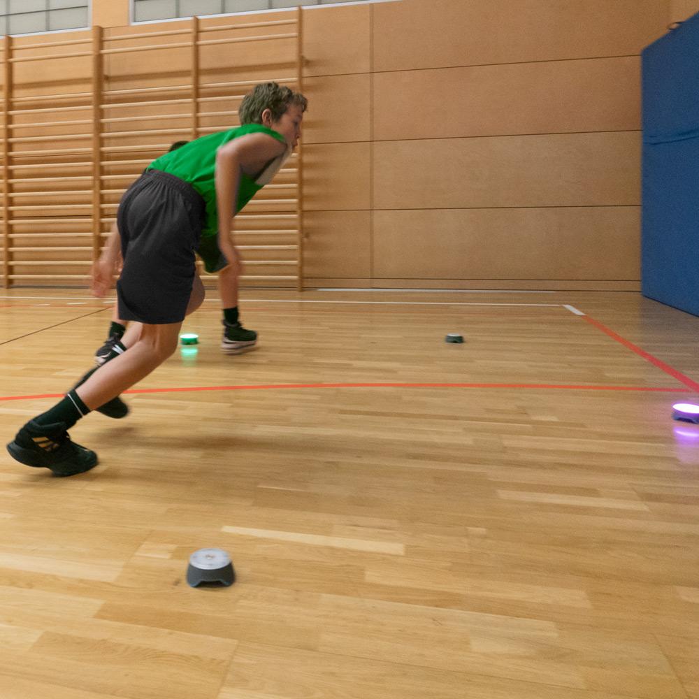 Blaze Pods – Technologie unterstützt das innovative Basketball Probetraining