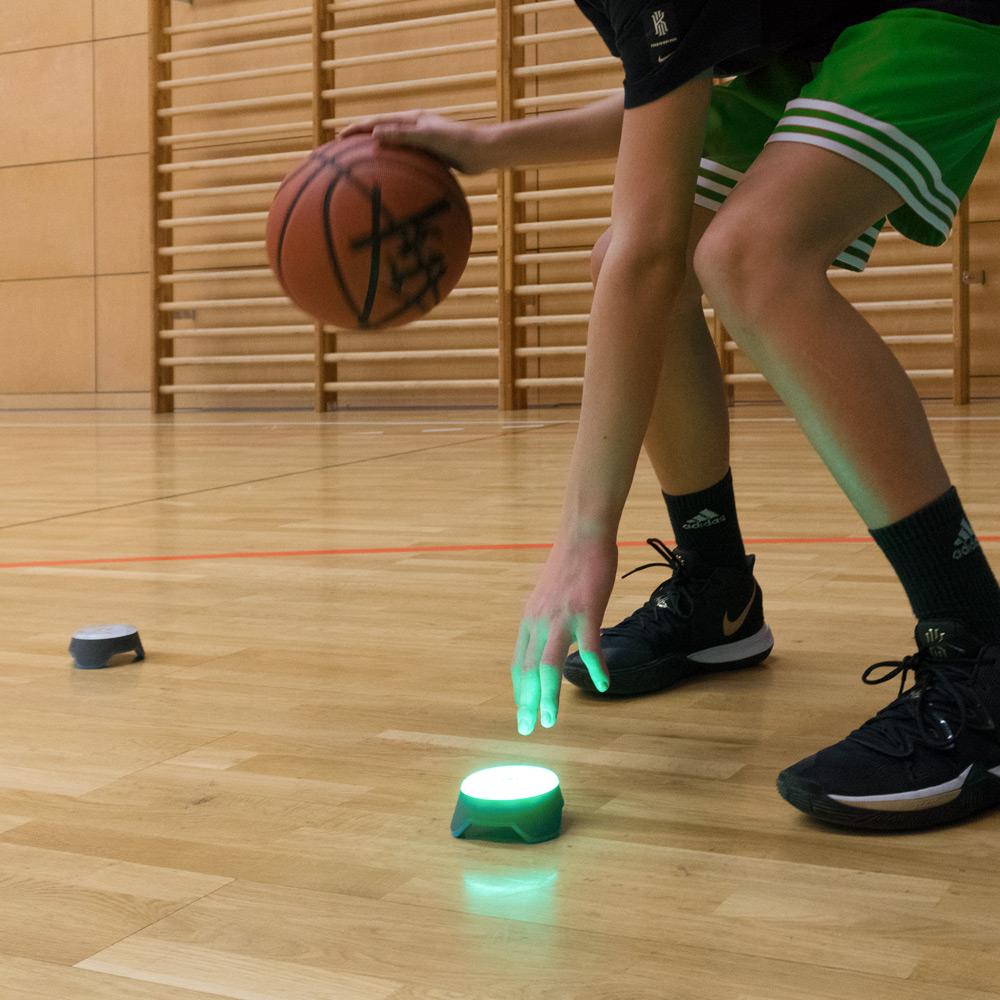 Blaze Pods – HighTech im Basketball Probetraining