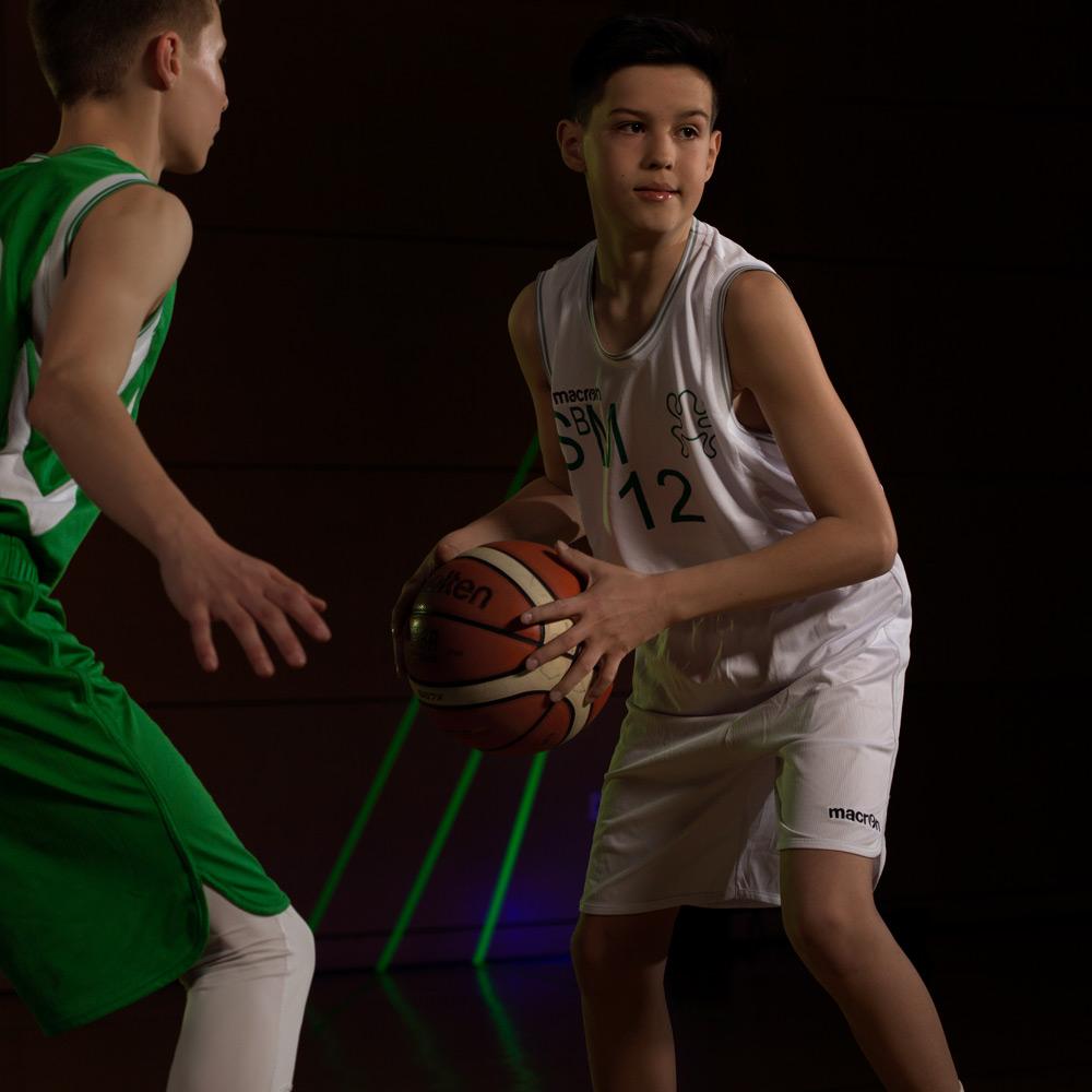 Spieler der U16 Mannschaft des DJK Sportbund München Basketball